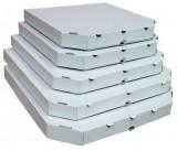 Коробка под пиццу и подпергамент